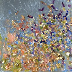 "Madelyn Jordon Fine Art Michelle Sakhai in ""BEDAZZLED"""
