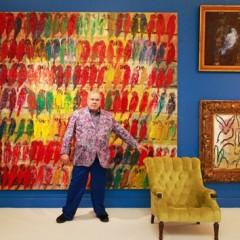 Madelyn Jordon Fine Art Hunt Slonem's Curatorial debut at Taubman Museum of Art