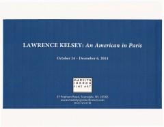 Madelyn Jordon Fine Art Exhibition Catalogue, LAWRENCE KELSEY: An American in Paris