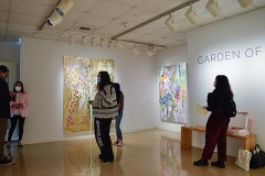 Madelyn Jordon Fine Art Michelle  Sakhai 			        			A Review of Garden of Peace by Michelle Sakhai