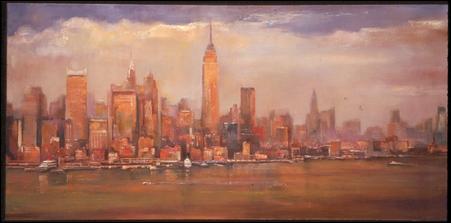 "Madelyn Jordon Fine Art LAWRENCE KELSEY: ""A New York State of Mind"""