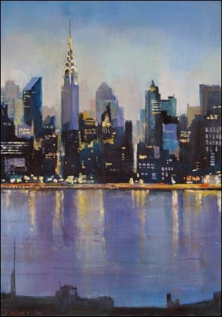 Madelyn Jordon Fine Art Lawrence Kelsey: New York, Dawn to Dusk